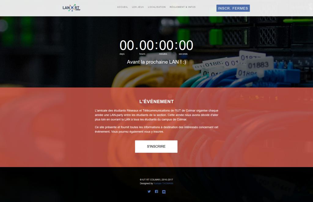 LAN: site web